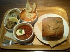 db cafe の 3deli lunch